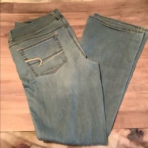 American Eagle Kick Boot denim 14
